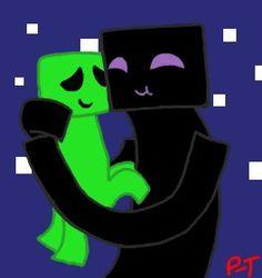 Enderman/Creeper is my new OTP!