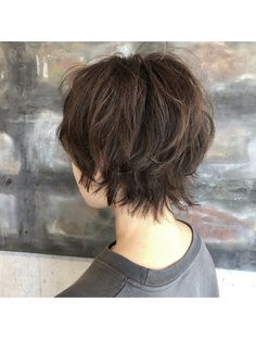 Pin on 試してみたいこと Pin on 試してみたいこと Medium Shag Haircuts, Oval Face Haircuts, Bob Hairstyles With Bangs, Girls Short Haircuts, Wig Hairstyles, Short Hair Tomboy, Shaggy Short Hair, Asian Short Hair, Short Hair Cuts