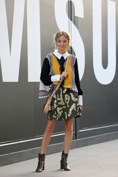 Street style at the 2016 Virgin Australia Melbourne Fashion Festival