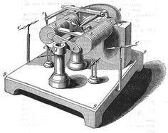 """Francis Watkins (British) creates an electrical """"toy"""" with which he can bring several magnetic needles to rotation. He describes the apparatus in a paper for the Philosophical Magazine.  He admits to being inspired by the electro-magnetic machine (generator) by Joseph Saxton, which is on display in a public gallery in London since August 1833."""