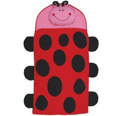 Personalized Nap Mats for Kids Stephen Joseph Ladybug Nap Mat. $49.95, via Etsy.