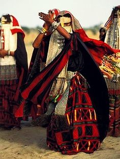 Bedouin Dancer, East Africa - Explore the World with Travel Nerd Nici, one Country at a Time. http://TravelNerdNici.com