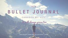 Coco stories: Πώς άλλαξε η ζωή μου με το bullet journal How bullet journal changed my life