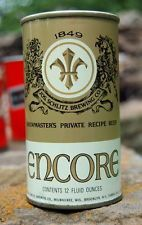 1971 ENCORE PULL TAB BEER CAN IN MINT CONDITION!