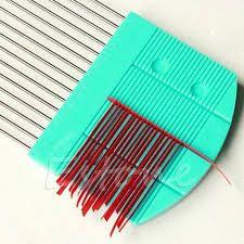Billedresultat for paper quilling comb technique