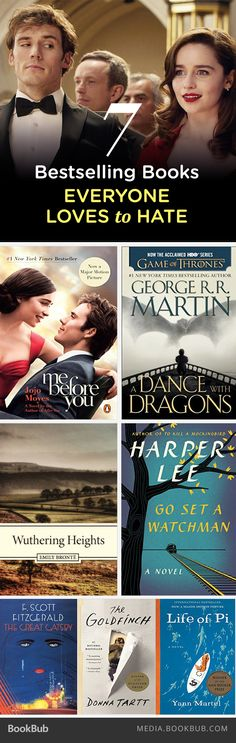 7 bestselling books everyone loves to hate.