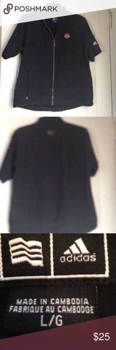 Adidas jacket Adidas jacket with club logo.Side pockets.Runs small Adidas Jackets & Coats