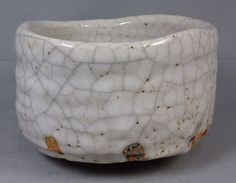 "Japanese vintage""Early-Showa era shino ware bowl""teabowl,chawan,japan pottery"