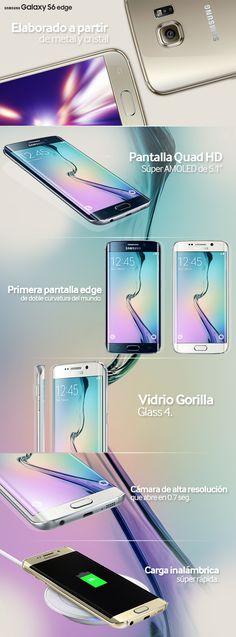 El diseño atemporal y avanzada tecnología diferencian a Galaxy S6 edge de cualquier otro dispositivo del mercado.