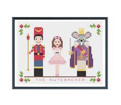 Nutcracker Suite Christmas Cross Stitch Pattern от tinymodernist