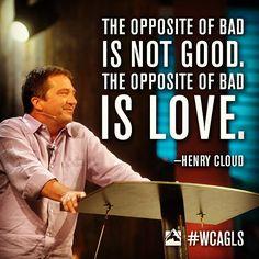 Global Leadership Summit 2013, Dr. Henry Cloud