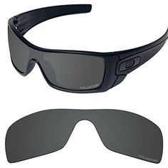 26c7613181 Performance Replacement Lenses for Oakley Batwolf Sunglass Polarized Etched