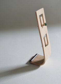 Bent Plywood Ring Stand by andersenfamiliar