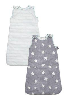 Little Star Sleeping Bag Two Pack (0mths-3yrs)