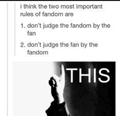 Fandom rules