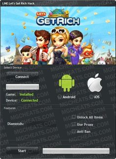 Get the Line Get Rich Hack 2017 last version. Here is Line Get Rich Hack available and on all smartphones and computer devices. Soft Works, Connect Games, Android Video, Rich Image, Line Friends, Line Sticker, How To Get Rich, Free Games, Travel