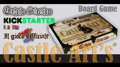 Castle Art's presents the Official Board Game of Calcio Storico, Historical re-enactment of 1529-1530 siege of Florence