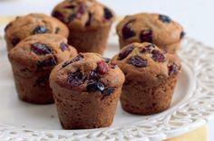 Bezlepkové muffiny s brusinkami | Apetitonline.cz