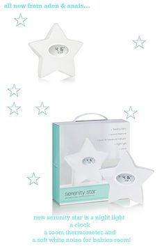 aden and anais sleepstar is a nightlight, a clock, a room thermometer and a white noise machine - Kiddos at Home My Baby Girl, Our Baby, Baby Shower Gifts, Baby Gifts, Baby Must Haves, Baby Time, Toddler Preschool, Baby Registry, Future Baby