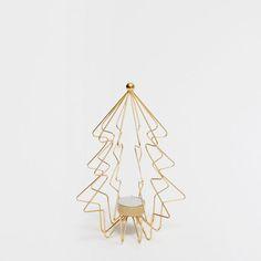 Porta velas estructura árbol