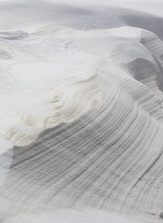 Subtle contour lines in white sand dunes. I love the subtlety and the softness.