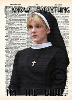 Sister Mary Eunice - American Horror Story: Asylum by vintagemystic