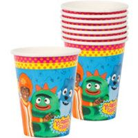 YGG 9oz Cups $2.17 for 8ct at Party City can NOT stand this show! id rather watch barney!