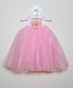 Pink Ella Princess Dress - Infant, Toddler & Girls | Daily deals for moms, babies and kids