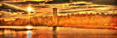 Golden Hour at Furman Universtiy