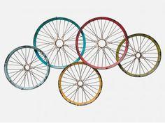 Wieszak Wagon Wheels — Wieszaki ścienne — KARE® Design