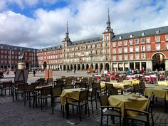 Plaza Major - Madrid, Spain