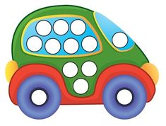 Transportation Toys Do-a-Dot Printables by Gift of Curiosity Preschool Learning Activities, Motor Activities, Infant Activities, Transportation Theme Preschool, Bebe Love, Do A Dot, Dot Painting, Business For Kids, Toddler Crafts