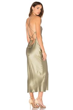 BEC&BRIDGE Amazonite Dress in Olive   REVOLVE