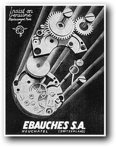 """As an expression of our philosophy here at Kirk Jewelers we decided on the word """"Genuine"""". By coincidence, we just found this vintage watch advertisement from the 1930's using """"Genuine"""""""