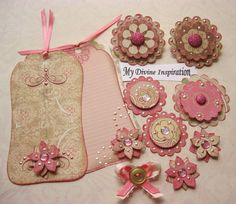 creative vintage scrapbooking pages | Vintage Scrapbook Paper Embellishments