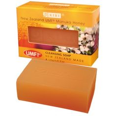 KIRI® Manuka Honey Cleansing Soap with New Zealand UMF® 16+ Manuka Honey to leave your skin deeply cleansed without removing natural oils. New Zealand Made See more at www.entirelynz.co.nz/skincare