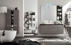 badeinrichtung badmöbel wand-waschtisch mit unterschrank regale