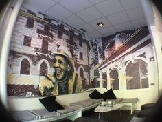 Wand- und Raumgestaltung, Piazza Bar, Bern