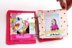 Fabric Instax mini album