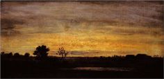 Twilight in Sologne - Theodore Rousseau