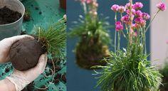 How To Make a Kokedama Ikebana, Indoor Garden, Garden Art, Japanese Plants, Garden Workshops, Deco Floral, Art Floral, Plant Art, Zen Gardens