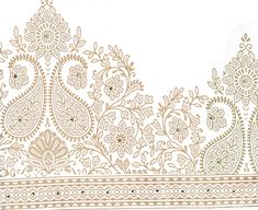 Textile Pattern Design, Textile Patterns, Embroidery Patterns, Print Patterns, Textiles, Gold Embroidery, Lace Design, Leg Tattoos, Art Designs