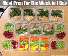 Meal prep prepped lunches, make ahead meals, freezer meals, easy meals, hea Lunch Meal Prep, Healthy Meal Prep, Healthy Snacks, Healthy Eating, Healthy Recipes, Sunday Meal Prep, Stay Healthy, Keto Recipes, Clean Eating Recipes