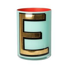 Alphabet Brush Pot - E