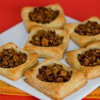 Vegan Tempeh Sausage Pastry Puffs from Vegan Brunch by Isa Chandra Moskowitz.