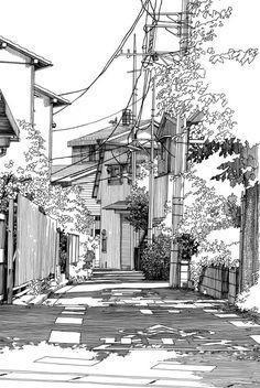 • Kiyohiko Azuma - Seitenstraße