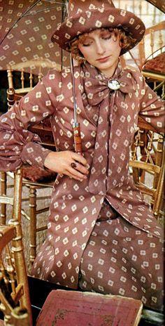 Biba Fashion, Seventies Fashion, 60s And 70s Fashion, Mod Fashion, Fashion Mode, London Fashion, Vintage Fashion, Womens Fashion, Fashion Tips