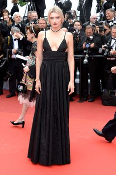 Lily Donaldson At the opening ceremony premiere of Café Society. 2016 Cannes Film festival