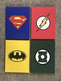 Diy canvas art 155303887144512994 - Justice League Canvas Art (Superman, Batman, The Flash, Green Lantern) Source by etsy Small Canvas Paintings, Easy Canvas Art, Small Canvas Art, Cute Paintings, Mini Canvas Art, Easy Canvas Painting, Diy Canvas, Pintura Hippie, Disney Canvas Art