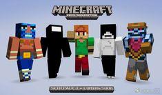 Minecraft Skins | MineCraft Xbox 360 Skin Pack 3 Adds Half-Life 2, Portal 2 Cast